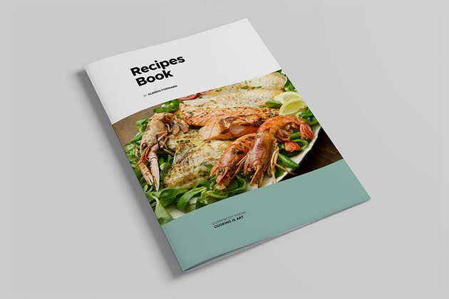 Cook Book, a premium recipe template for Word on Envato Elements