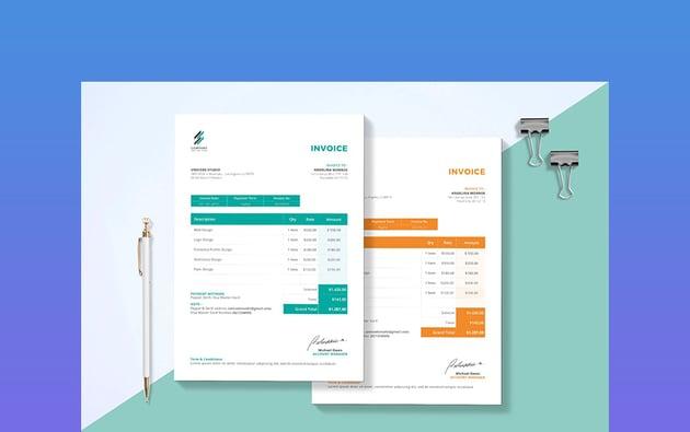 Invoice Premium MS Word Template