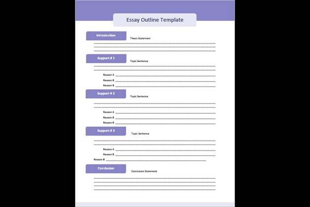 Purple Free Microsoft Word Outline Template Download
