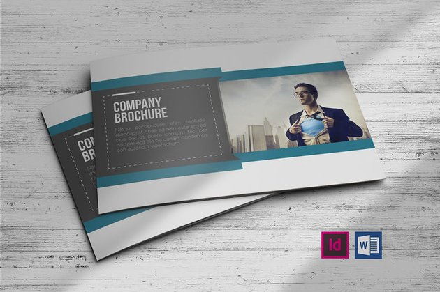 Booklet Brochure Template from Envato Elements works well as a training manual template