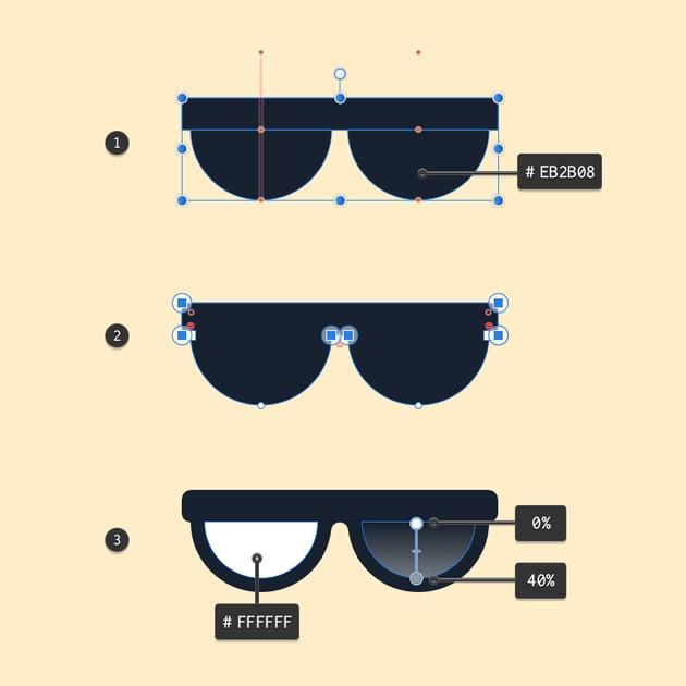 Creating glasses