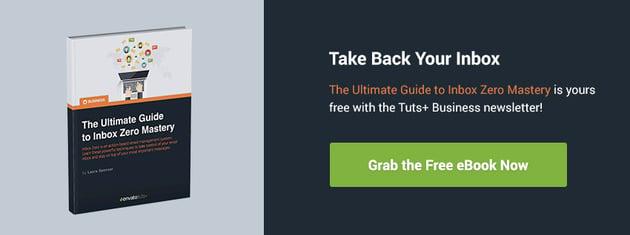 Download the inbox zero email tips ebook now