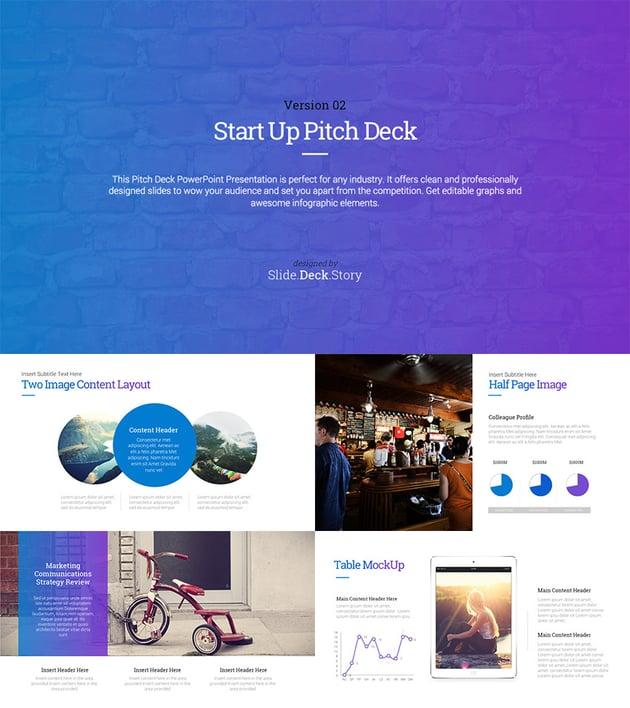 Pitch Deck Start Up - PowerPoint Presentation