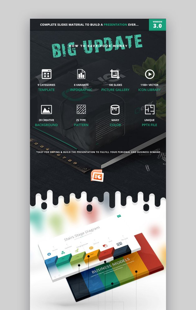 Ever PowerPoint Infographic Template
