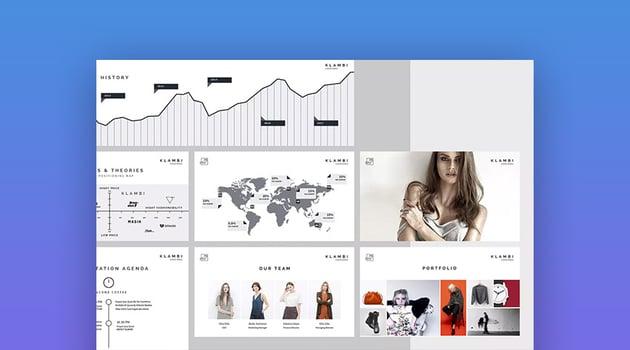 Fashion Trendy Design Keynote Theme für Mac