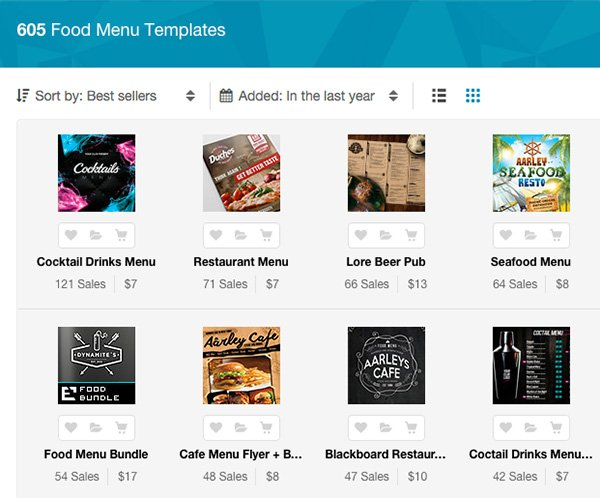 Restaurant Menu Templates