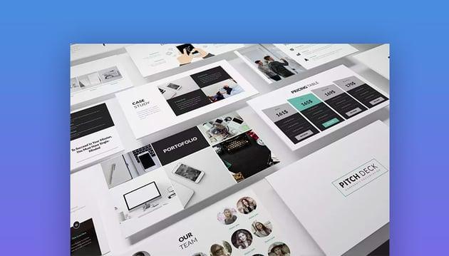 Pitch Deck PowerPoint PPT Business Plan Template
