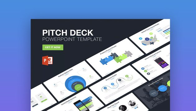 Pitch Deck PowerPoint Presentation Template