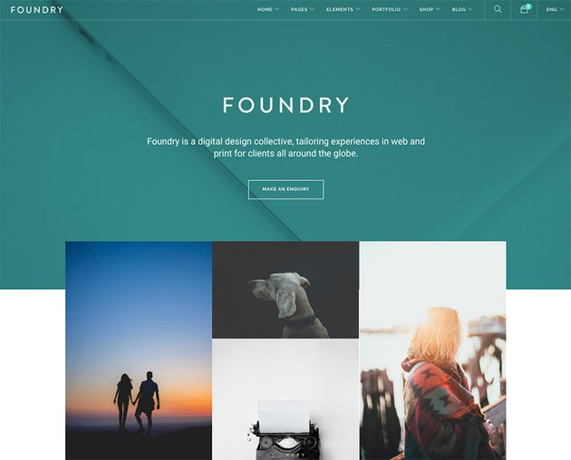 Foundry Multipurpose HTML Variant Page Builder