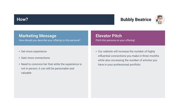 Buyer Persona Slide How