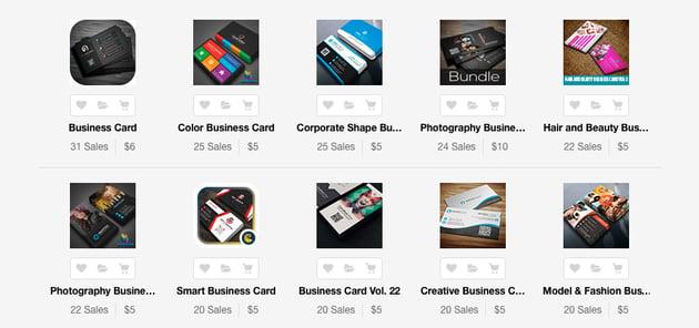 Creative Photoshop Business Card Templates