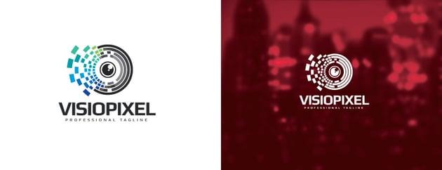 Logo Template For Visual Branding