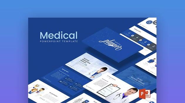 Modern Medical Healthcare PPT Slide Template