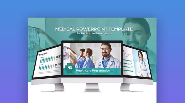 Medical PowerPoint PPT Presentation Template Design