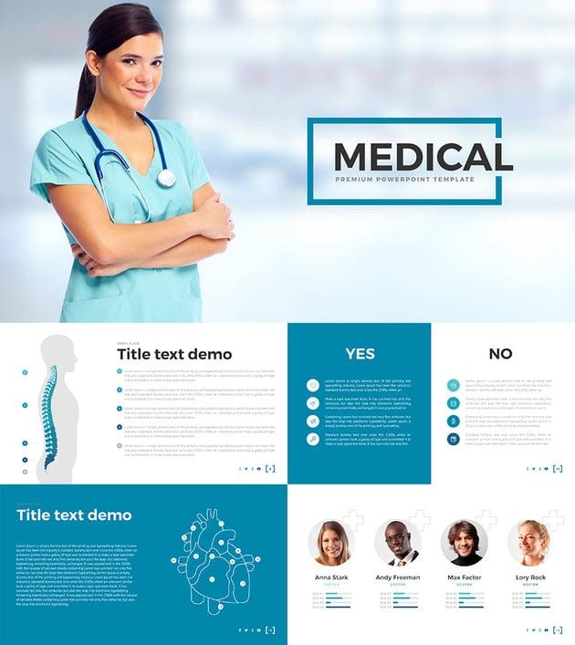 Medical PPT Presentation Design