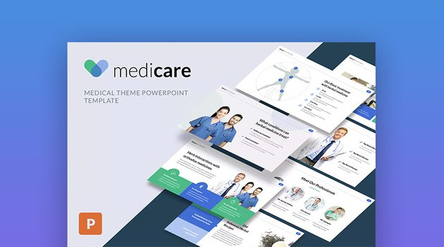 MediCare Pro Medical PowerPoint Design Template