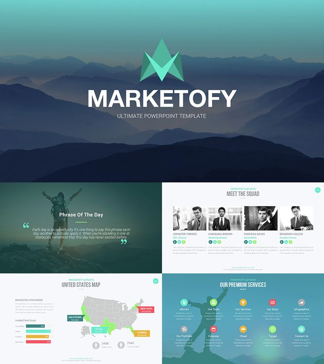 Ultimate PowerPoint Template - Marketofy