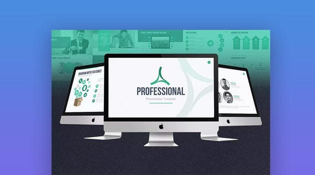 Professionelle Unternehmenspräsentationsvorlage