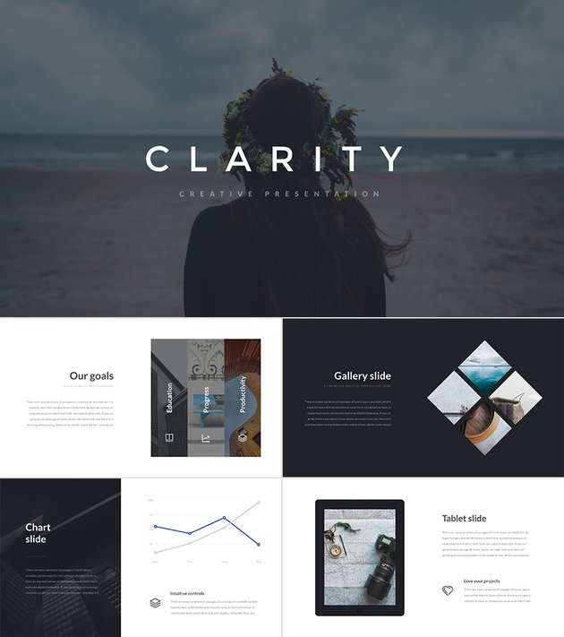 Clarity PowerPoint Presentation for Education and More