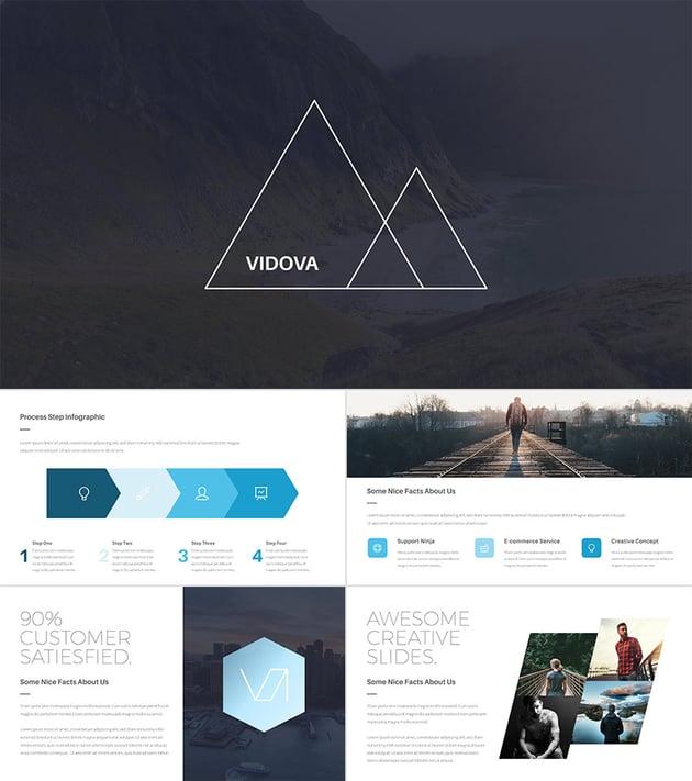 Vidova Modern PowerPoint Presentation Design