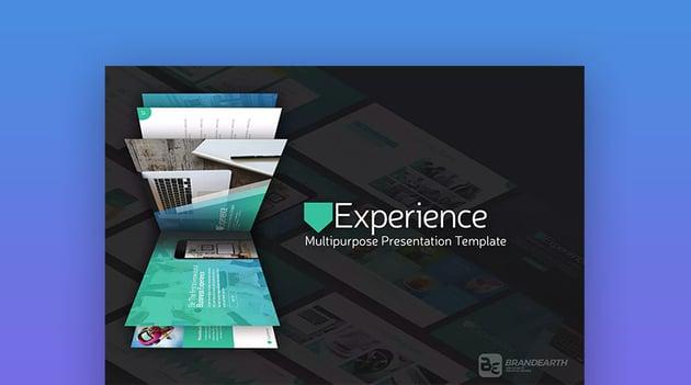 Experience - Plantilla PPT con Diapositivas en Movimiento