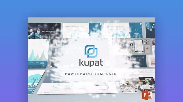 Kupat - Plantilla PPT con Animaciones Frescas