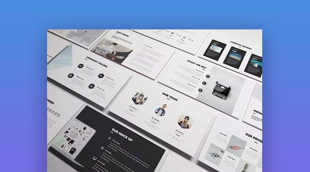 Creative Google Slides Presentation Template Design