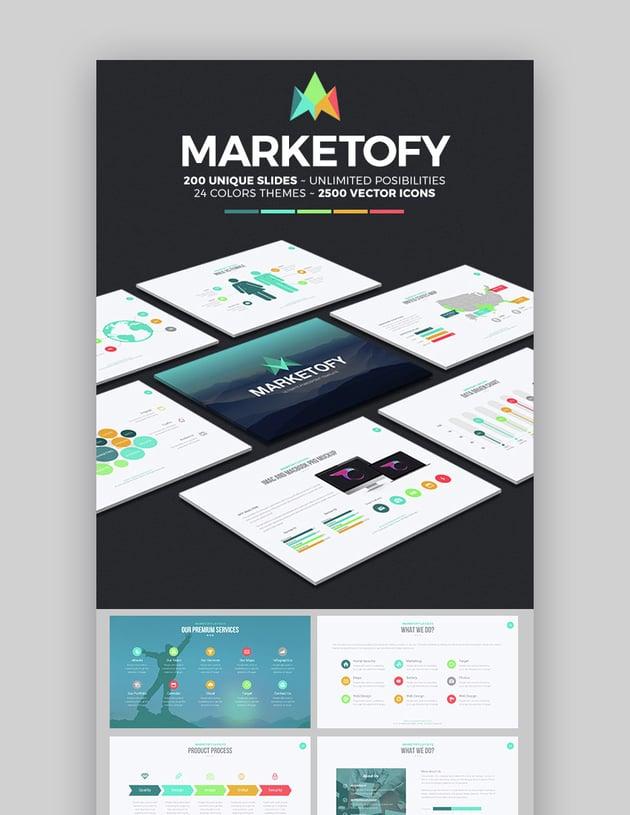 Marketofy Ultimatives Cooles Google Slides Theme Design