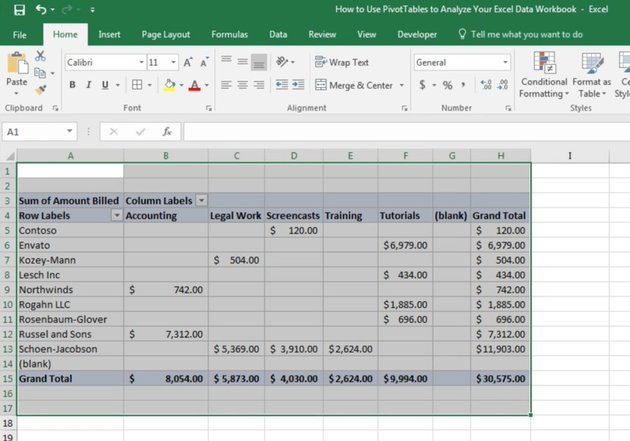 Select the Excel cells you want to print