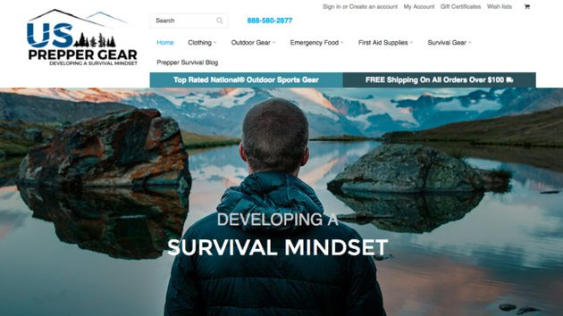 Prepper Gear sells niche products online well