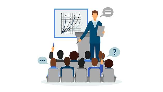 Presenting a quick 5 minute presentation