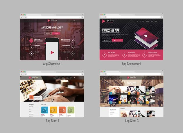 Discover the best app theme designs for WordPress