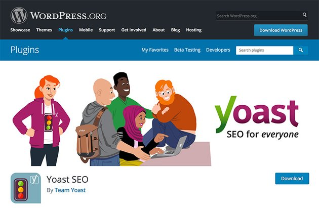 Yoast SEO WordPress Plugin