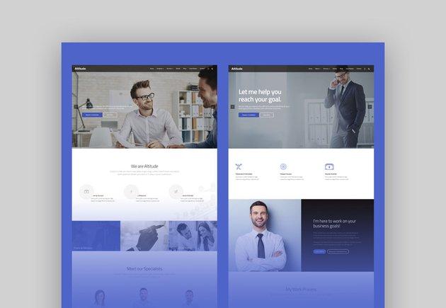 WordPress consulting themes website designs