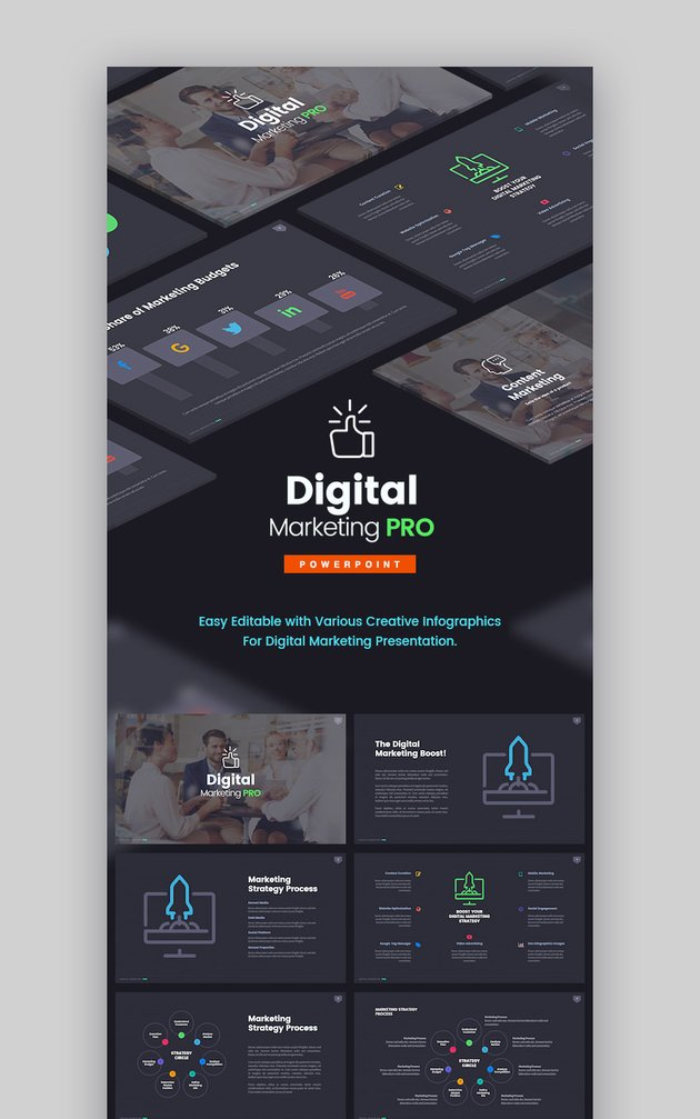 The Digital Marketing Pro PowerPoint PPT Template