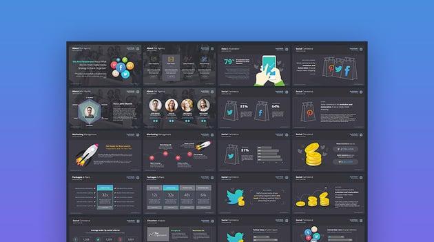 The Digital Agency Marketing Plan PowerPoint Template