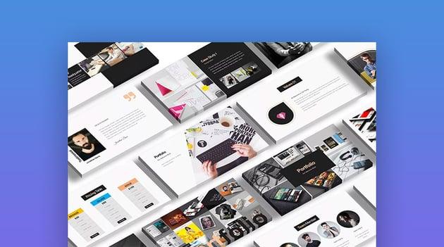 Rockefeller Creative Custom Apple Keynote Presentation Design