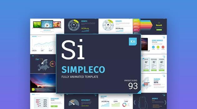 Simpleco Mac Keynote Presentation Theme Design Download