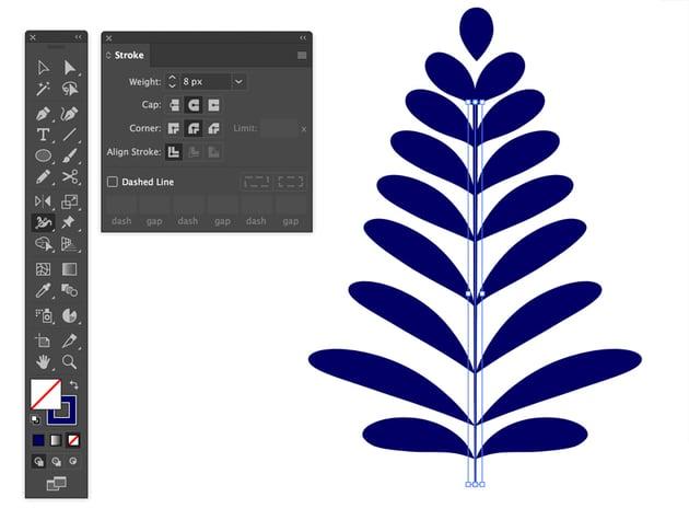 Width tool in Adobe Illustrator
