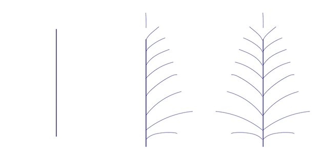 Drawing twig in Adobe Illustrator