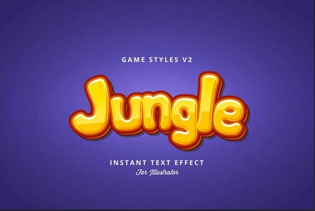 Game Styles for Illustrator V2