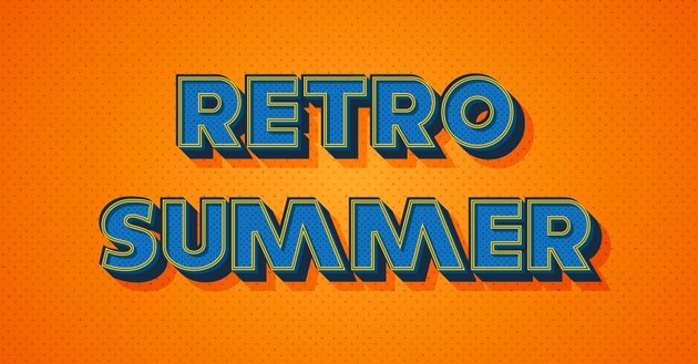 How to Create a Warm Retro Text Effect in Adobe Illustrator
