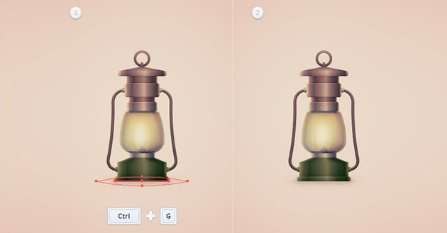 How to Create a Vintage Camping Lantern Icon in Adobe Illustrator