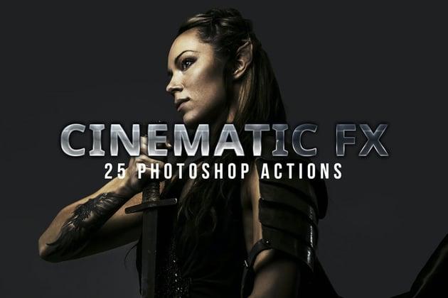 Cinematic Photoshop Actions