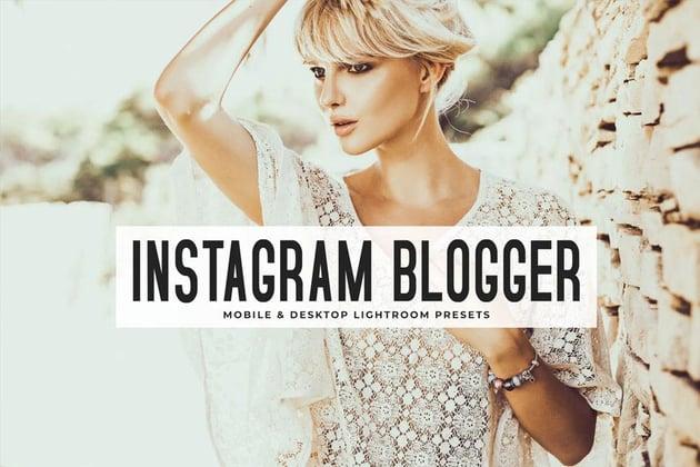 Instagram Blogger Lightroom Presets Pack