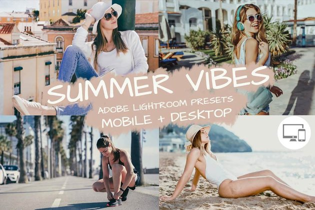 Summer Vibes Lightroom Presets
