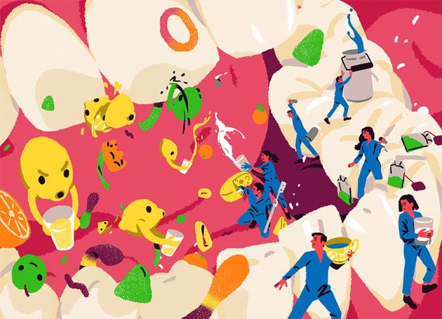 Editorial illustration by Sua Balac