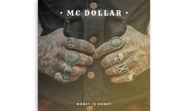 Hip-Hop Money Album Cover Design Template