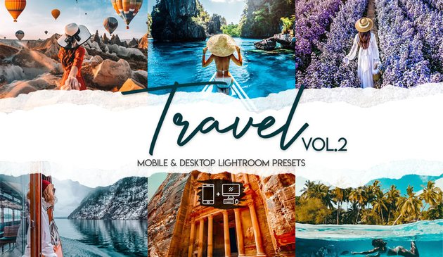 15 Premium Travel Lightroom Presets