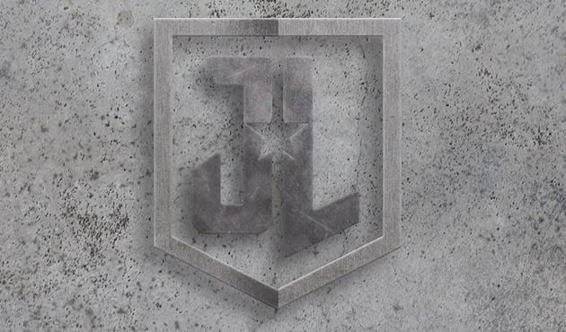 Add concrete texture to the logo